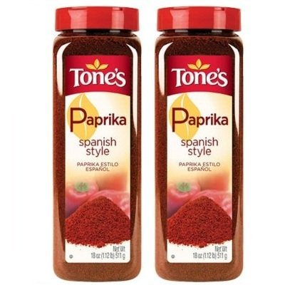 Tone's Ground Spanish Paprika, 18 Oz., (Pack of 2)