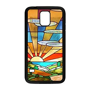 Custom Art-Deco Design Plastic Case for Samsung Galaxy S5 by icecream design