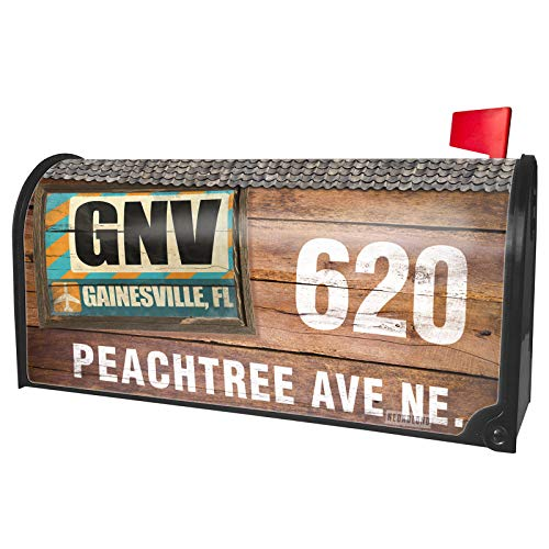 NEONBLOND Custom Mailbox Cover Airportcode GNV Gainesville, FL -