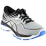 zappos shoes asics - ASICS Men's Gel-Cumulus 19 Running-Shoes, Grey/Black/Directoire Blue, 9.5 2E US