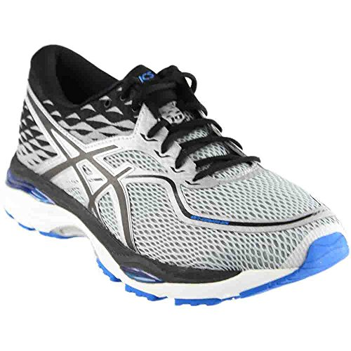 ASICS Men's Gel-Cumulus 19 Running Shoe, Grey/Black/Directoire Blue, 13 Medium US