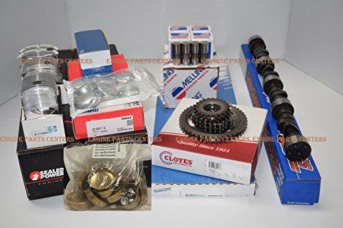 Chevy Mercruiser 7.4L 7.4 454 MARK IV MASTER Engine Kit Pistons+Cam marine 2pc (All Std Sizes) -