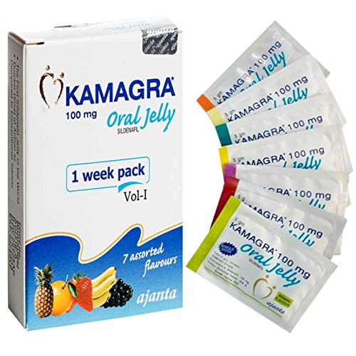Mens Original Herbal Oral Jelly 7x100mg Fruit Flavoured Fast Delivery/Rock Hard Erections!