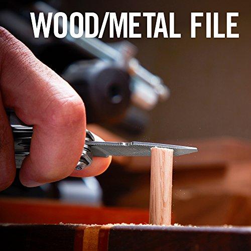 Leatherman - Sidekick Multitool, Stainless Steel with Nylon Sheath