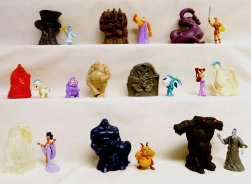 Mcdonalds - Hercules Complete Happy Meal Set - 1997