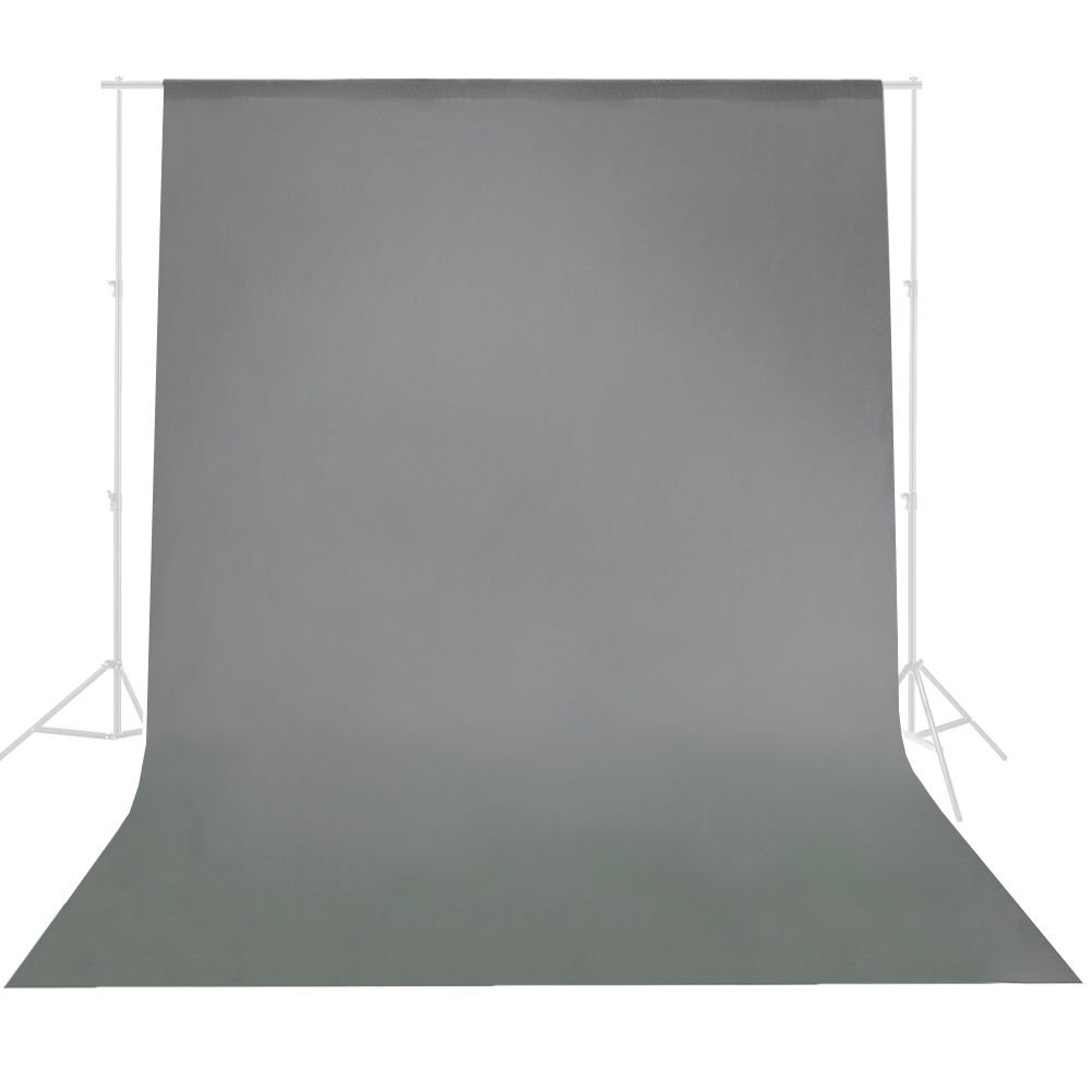 Safstar 3 x 6M/ 10 x 20ft Photo Studio Backdrop Background Screen, Non-woven for Photography, Video and Television, Grey (Background Stand Not Included)