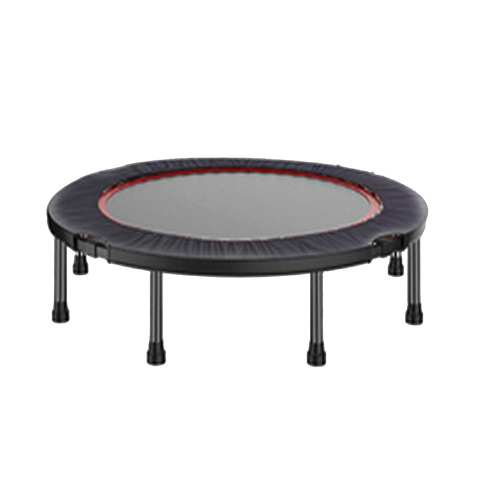 HLF- Trampoline Pliable, Pliage à Un Bouton, Pratique et Rapide, Tissu Oxford épais, diamètre 120 cm, Trampoline Amincissant pour Enfants, Robuste et Domestique.