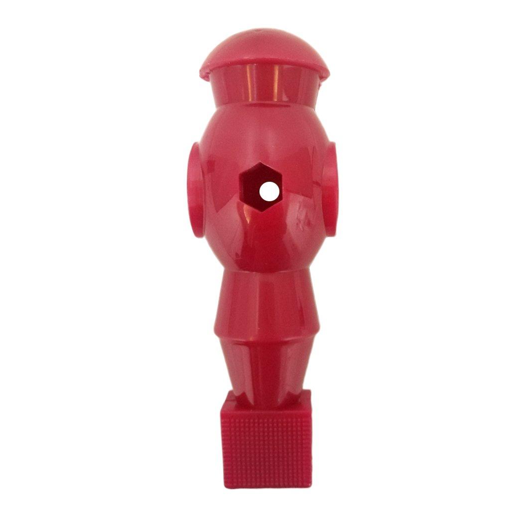 T TOOYFUL Foosball Man Guy Player Perfekt F/ür Spieler Turnier Ersatzteile Durable \u0026 Professional Mehrere Farben Red