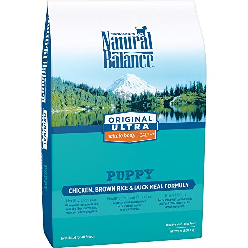 Natural Balance Puppy Formula Dry Dog Food, Original Ultra W