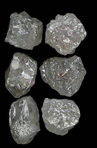 Natural Loose Diamonds Silver Grey Color Uncut Raw Rough 1.00 Carats + Q171 by lukhidiamond (Image #6)