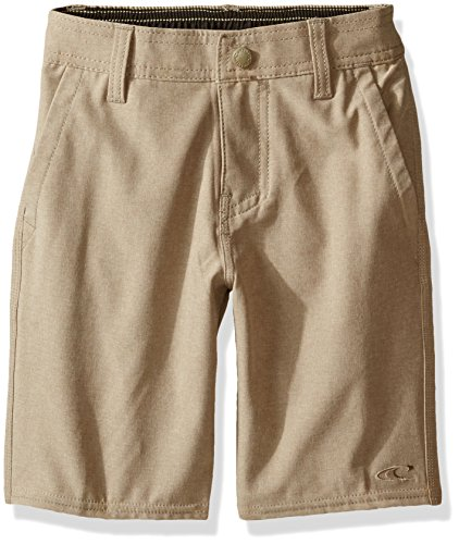 Oneill Kids Boys Shorts - O'Neill Little Boys Loaded Quick Dry Stretch Hybrid Boardshort, Heather Khaki, M5/6