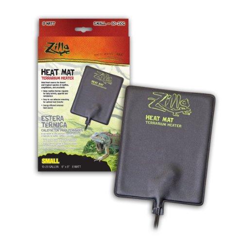 Zilla Reptile Terrarium Heat Mats, Small, 8 Watt