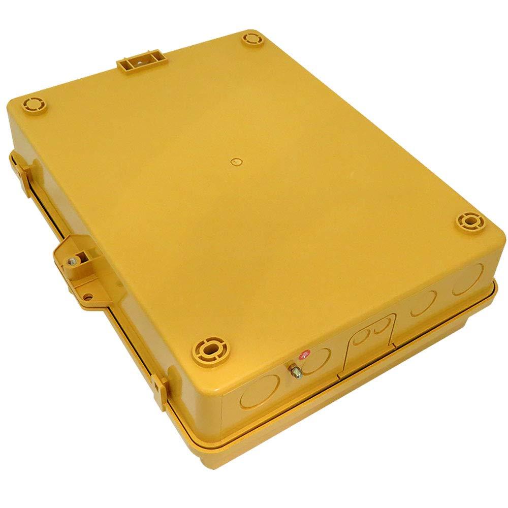 Altelix Vented Yellow NEMA Enclosure (14'' x 9'' x 4.5'' Inside Space) Polycarbonate + ABS Tamper Resistant Weatherproof by Altelix (Image #6)