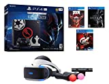 PS4 Sci-Fi Bundle (7 Items): PlayStation 4 Pro 1TB Limited Edition Console with Star Wars: Battlefront II, Doom, Skyrim, Gran Turismo Sport, PSVR Headset, Playstation Camera, and 2 Move Controllers