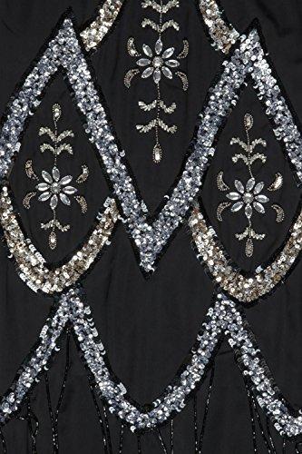 Love Camden Damen Cocktail Kleid schwarz schwarz Einheitsgröße