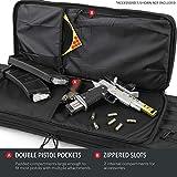 Heavy Duty 600D Double Carbine Rifle Bag Soft Gun