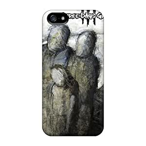 High Grade Vvicky Flexible Tpu Case For Iphone 5/5s - Three Days Grace