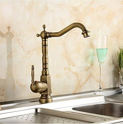 wymbs accesorios para muebles creativo decoración baño cepillado antiguo cobre monomando grifo agua caliente fría baño