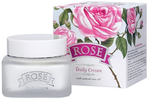 ROSE Daily Cream - With Natural Rose Oil, 50ml