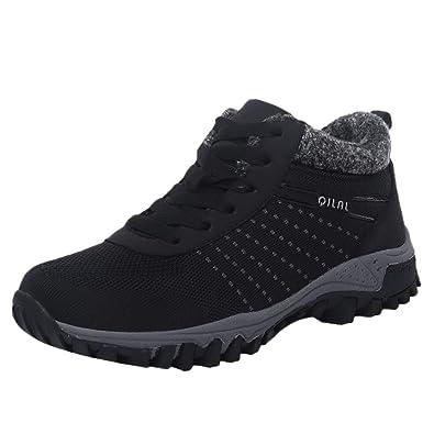 40c730f2252ac6 Damen Laufschuhe Winter Warm Sneakers Bequeme Sportschuhe Turnschuhe  Runningschuhe Outdoorschuhe Freizeitschuhe.