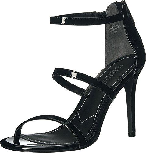 Charles by Charles David Women's Ria Dress Sandal, Black, 8 M US