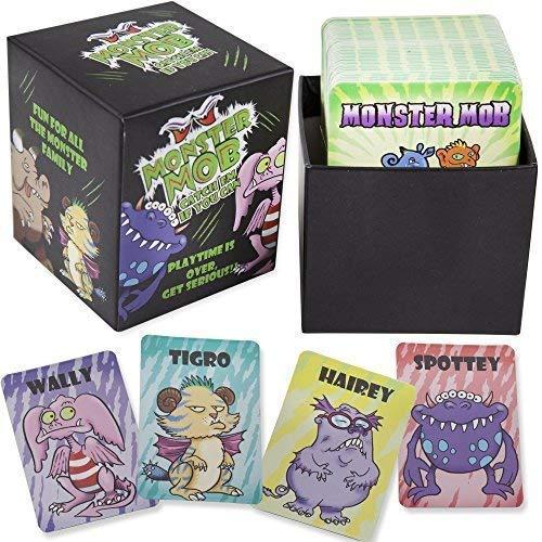 !! MONSTER MOB !!, The CARD GAME for all the MONSTER FAMILY. (Boss Monster Card Game)