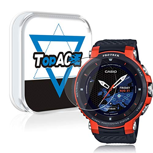 bcb430f0831d TopACE for Casio WSD-F30 Smart Watch Screen Protector