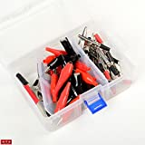 Professional Strength 60pc Alligator Clip Assortment With Carry Box