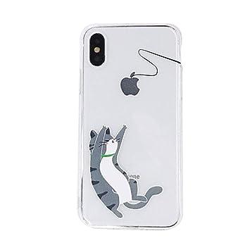 3ce2b28892 MOMOCASE iphone XS Max ケース 猫 ネコ 人気 クリア 携帯カバー 動物 iPhone case iPhone 6s