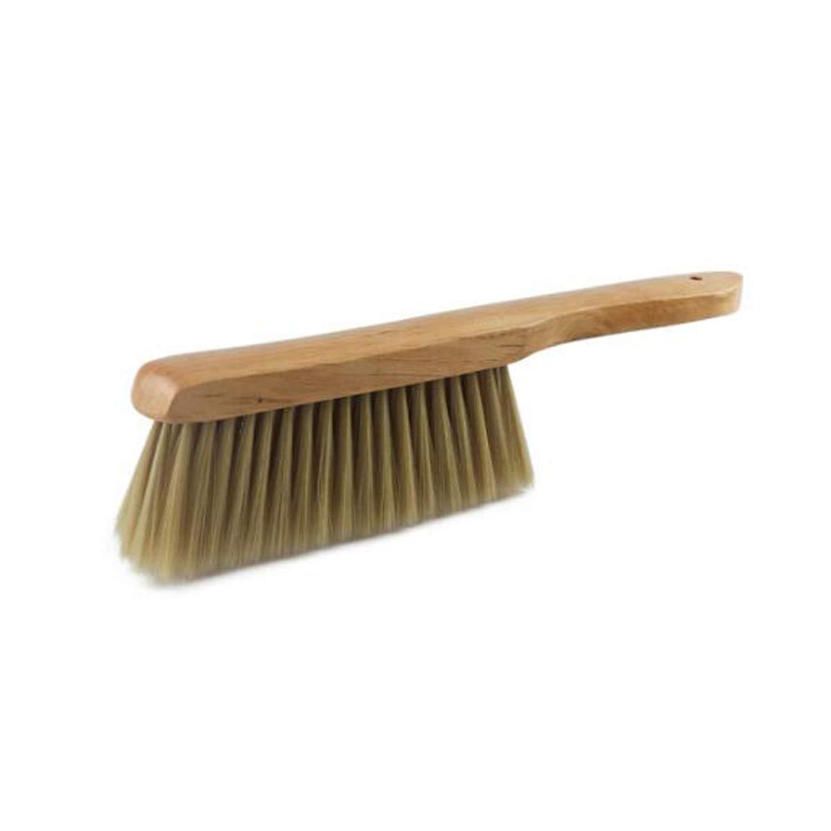 SHENGSHIHUIZHONG Household Soft Hair Bed Brush, Bedroom Sweeping Brush, Carpet Dusting Cleaning Brush, Anti-Static Sofa Brush, Bedding, (Material : Wood) by SHENGSHIHUIZHONG