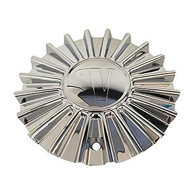 Velocity Wheel VW11 CSVW11-1P SJ129-14 Chrome Wheel Center Cap: Automotive