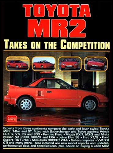 Toyota MR2: Takes on the Competition: R.M. Clarke: 0793486114698: Amazon.com: Books