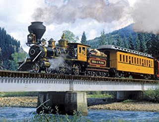 product image for Springbok Puzzles - Durango Express - 500 Piece Jigsaw Puzzle - Large 18 Inches by 23.5 Inches Puzzle - Made in USA - Unique Cut Interlocking Pieces