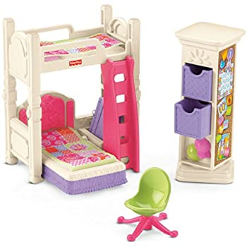 Fisher Price Loving Family Kidu0027s Bedroom Set
