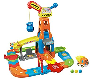 VTech Go! Go! Smart Wheels- Construction Playset | Learning And Education