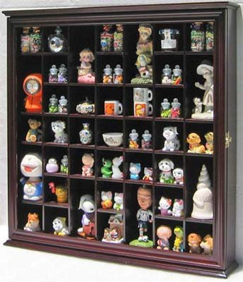 collectible display case wall curio cabinet shadow box with glass rh amazon co uk Doll Display Cases Glass Display Cases for Collectibles