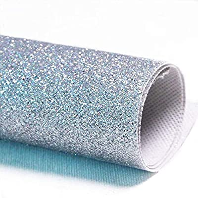 New Arrival Fine Glitter Fabric Bling Card Making Wallpaper Bows Decor Crafts
