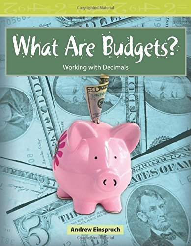 What Are Budgets?: Level 3 (Mathematics Readers) pdf epub
