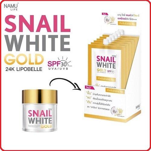 Snail White Facial Gold Face Cream 7ml x 6