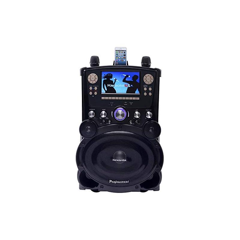 Karaoke USA GP978 Professional DVD/CDG/M