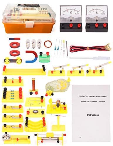 Physics Science Lab Basic Circuits kit for Junior/Senior High School Students, Stem Toys for Kids (Good Science Fair Experiments For High School)