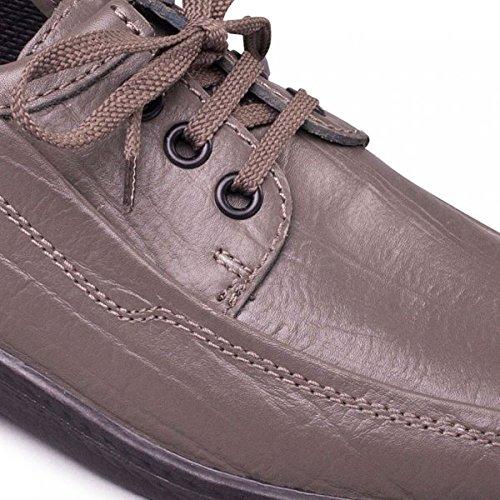Padders - Zapatos de cordones para hombre Gris - Pewter Grey