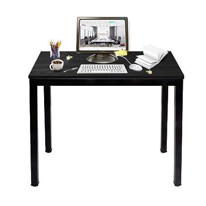 80x40x75cm Table De Bureau Table De Travail Pc Table En Bois