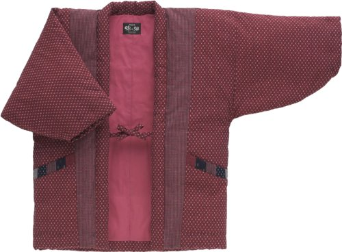 Hanten Cotton Jacket Made in Japan Kimono-style ()