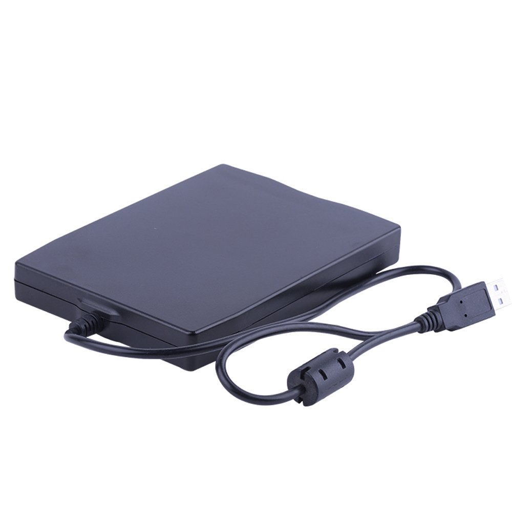 3.5'' External Floppy Disk Reader Drive Portable 1.44MB FDD for PC Windows 98/ME/2000/XP/Vista/Windows 7/8/10,for Mac,General by Dainty