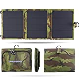 Charger Solar charger,Charge current indicator,i-SURPLU 14W 2-Port USB Solar Charger PowerPort Solar for iPhone 6/6 Plus, iPad Air 2/mini 3, Galaxy S6/S6 Edge and More
