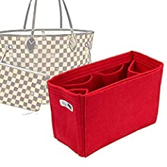 Felt handbag organizer for Louis Vuitton bag models. Many women are in distress with the messiness of their purses and bags. Now you can organize your makeup accessories, wallet, tablet PC, mobile phone, books, ID and many other personal item...