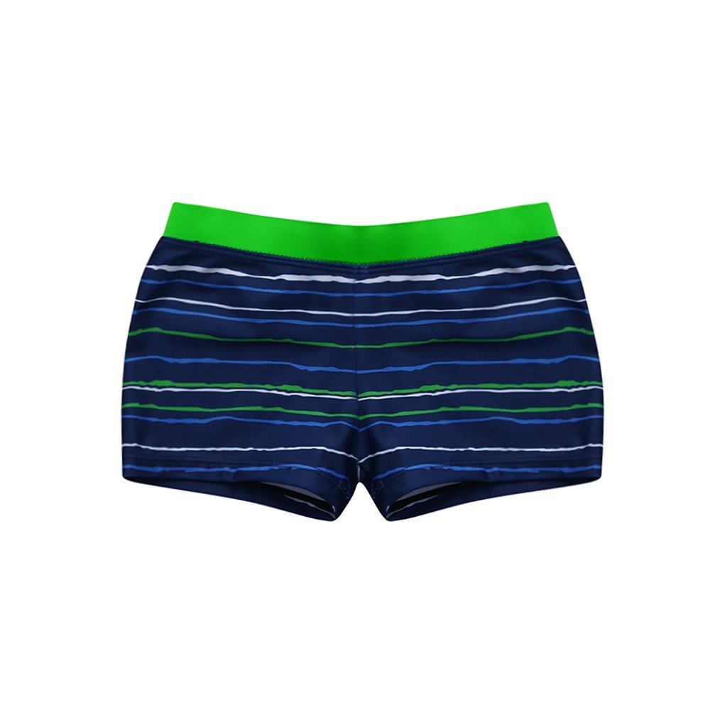 Winsummer Baby Boys Striped Board Shorts Reusable Swimming Trunks Quick Dry Beach Surf Swim Boxer Underpants
