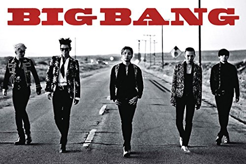 Big Bang - Kpop Band Poster 24x36 inches