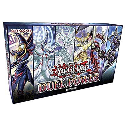 Yu-Gi-Oh! Trading Cards TCG: Duel Power Box- 6 Rare Cards & Booster Pack, Multicolor: Toys & Games